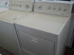 KENMORE ELITE SERIES WASHER & DRYER PAIR 220 VOLTS LIKE NEW