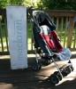 Red Maclaren Techno XT Stroller
